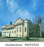 Castle Litomysl  Czech Republi...
