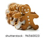 gingerbread men | Shutterstock . vector #96560023