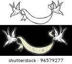 swallows | Shutterstock .eps vector #96579277
