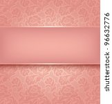 lace background  pink... | Shutterstock .eps vector #96632776