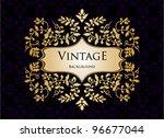 vintage background   Shutterstock .eps vector #96677044