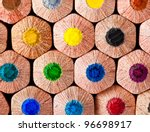 Colorful Pencils Wall Background