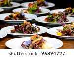 wedding and event food... | Shutterstock . vector #96894727