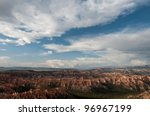 Bryce Canyon, Utah Sky - stock photo