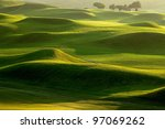 golf place with nice green | Shutterstock . vector #97069262