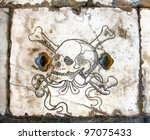 Skull On The Cathedral Crypt....