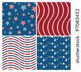 set of seamless patterns...   Shutterstock .eps vector #97083452