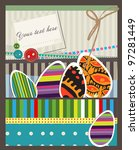 easter card | Shutterstock . vector #97281449