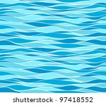 seamless marine wave patterns | Shutterstock .eps vector #97418552