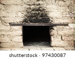 Smoky Antique Brick Oven...