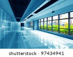 image of windows in morden... | Shutterstock . vector #97434941
