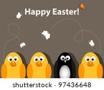 easter greeting card | Shutterstock . vector #97436648