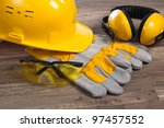 Small photo of Standard construction safety equipment