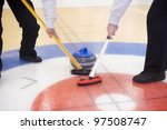 close up of a curling situation | Shutterstock . vector #97508747