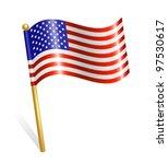 usa flag | Shutterstock .eps vector #97530617