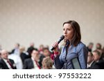 indoor business conference for... | Shutterstock . vector #97553222