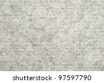 There is grey wool material for sewing - stock photo