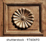 Ornamental Inset Of An Old...