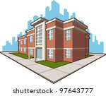 school building | Shutterstock .eps vector #97643777