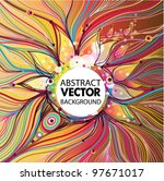 vector background | Shutterstock .eps vector #97671017