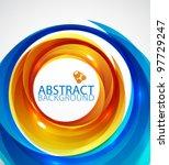 Abstract Hi Tech Circle...