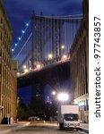 Manhattan Bridge Viewed From...