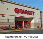 PLEASANT HILL - DECEMBER 24: Target is the second-largest discount retailer in the United States, with a store in almost every state in the United States. December 24, 2011, Pleasant Hill, CA - stock photo
