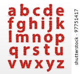 Red Roses  Font        ...