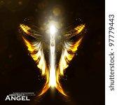 Angel Vector Futuristic...