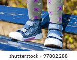 child shoes - stock photo