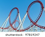 the loops of a scaring roller... | Shutterstock . vector #97819247