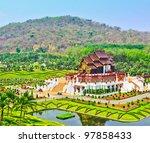 horkumluang in chiang mai... | Shutterstock . vector #97858433