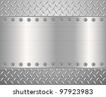 pattern of metal texture...
