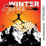 winter game   Shutterstock .eps vector #97931987