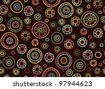 seamless retro pattern.   Shutterstock .eps vector #97944623