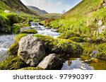 alva glen  idyllic scottish... | Shutterstock . vector #97990397