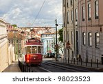 Historic Classic Red Tram Of...