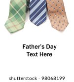 Fathers Day concept - stock photo