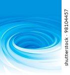 vector of swirling water... | Shutterstock .eps vector #98104457