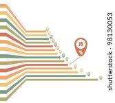 vintage arrows   infographic... | Shutterstock .eps vector #98130053