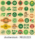 Bio   Eco  Organic Labels...