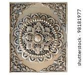Decorative art of lanna thai....