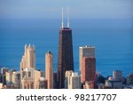 chicago  il   oct 1  hancock... | Shutterstock . vector #98217707