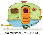 caravan | Shutterstock .eps vector #98241443