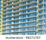high rise building under... | Shutterstock . vector #98271707