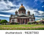 Saint Isaac Cathedral In St...
