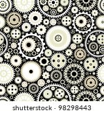 seamless background consisting... | Shutterstock .eps vector #98298443