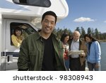 man and his family on vacation | Shutterstock . vector #98308943