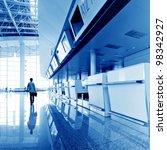 passenger in the shanghai... | Shutterstock . vector #98342927