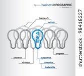 modern organization of high... | Shutterstock .eps vector #98418227